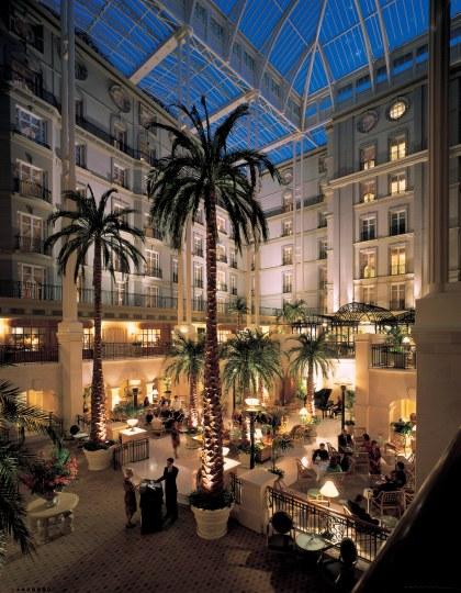 The Landmark Atrium Large Night